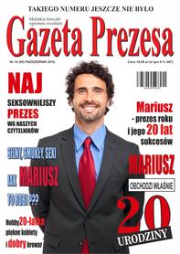 Prezent na 20 urodziny Gazeta Prezesa
