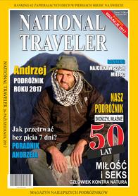 Prezent na 50 urodziny National Traveler