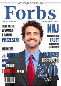 Prezent na 20,30,40,50 urodziny informatyka - Forbs