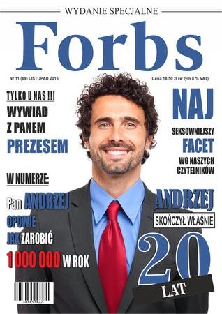 Prezent na 20,30,40,50 urodziny informatyka - Forbs (1)
